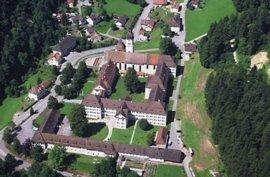 Luftaufnahme Kloster Fischingen
