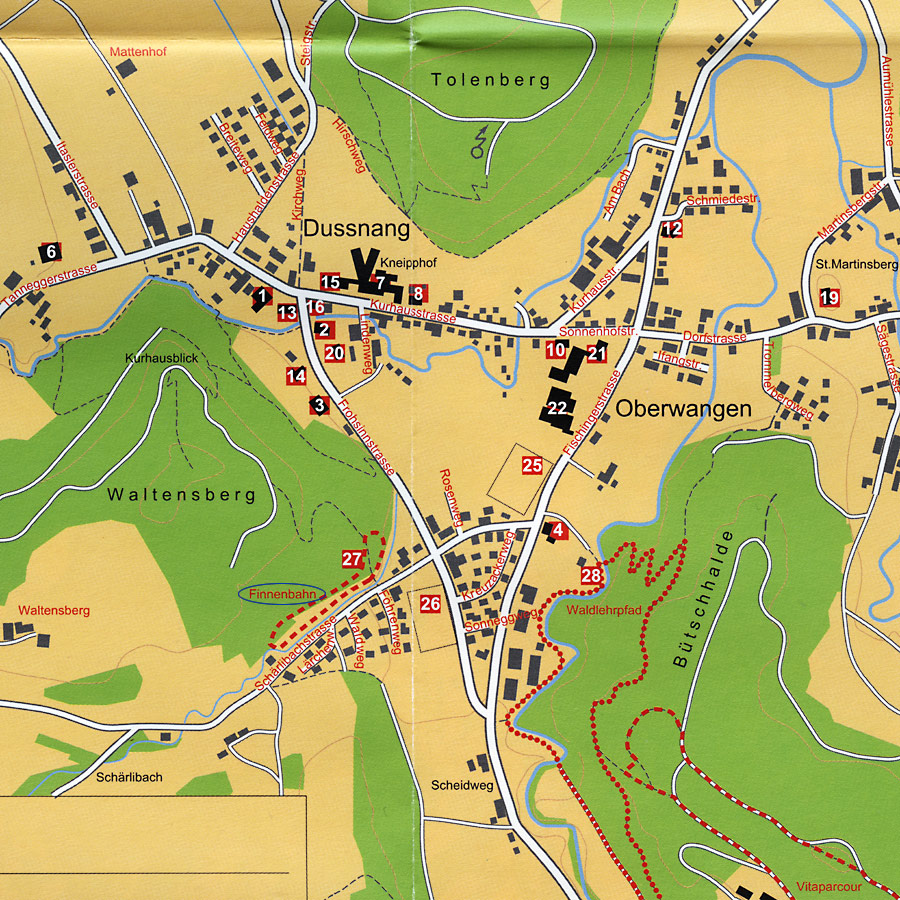 Karte Finnenbahn
